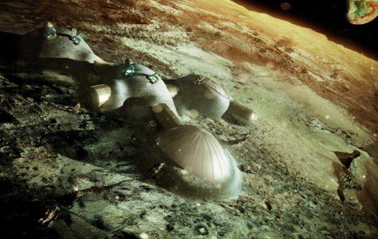 Foster + Partners: Obydlení Marsu a Měsíce