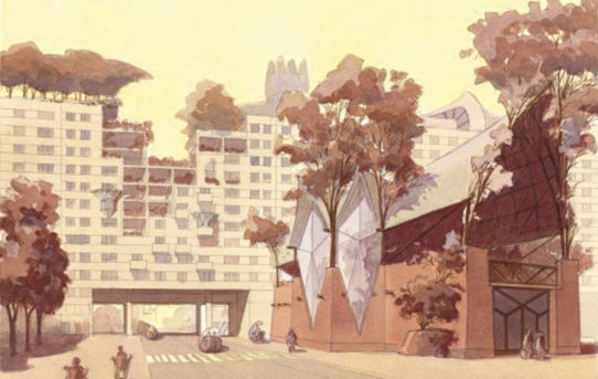Luc Schuiten: Architektura Valonska a Bruselu