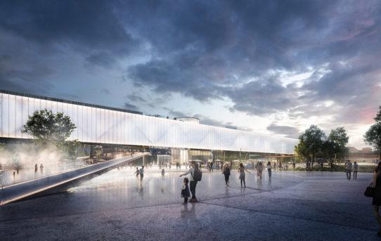 Kongresové centrum Praha představuje, jak bude vypadat nová výstavní hala a Pankrácké náměstí