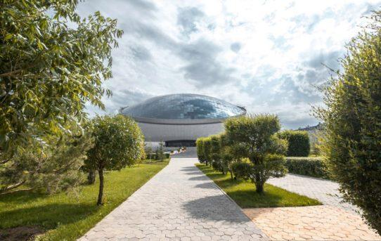 Ohřev venkovních ploch prokazuje své výhody i v Kazachstánu