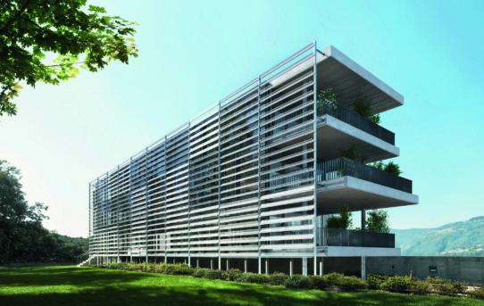 Pro pasivní i aktivní ochranu budov nejen proti slunci