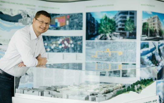 Leoš Anderle: We plan Smíchov City together with the public