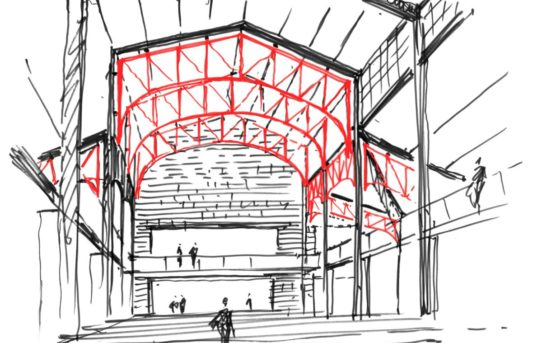 (Čeština) Výstava JEMS architekti – MEZI/AMID / NTK, Praha