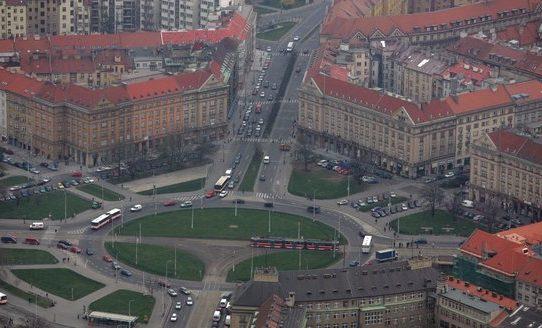Slavnostní odhalení nové podoby vítězného náměstí