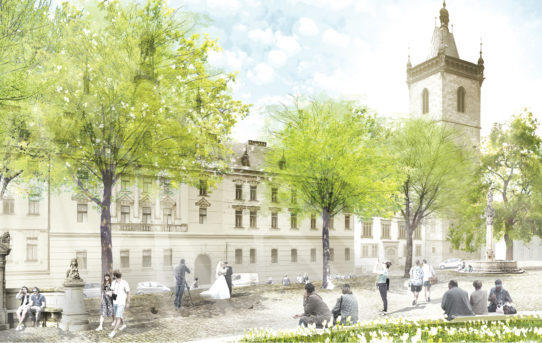 (Čeština) Karlovo náměstí se promění pod taktovkou německého krajináře a dvou tuzemských architektonických studií
