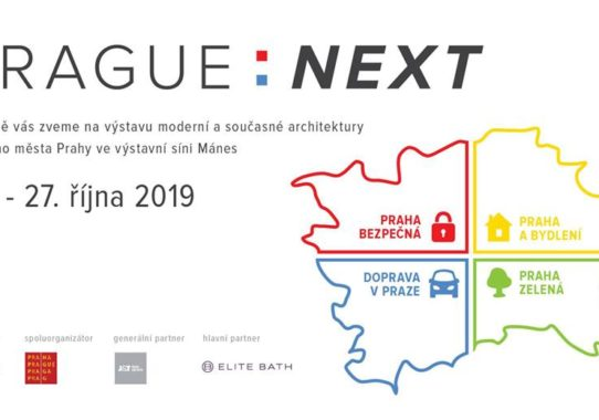 (Čeština) Výstava o Praze Prague: Next