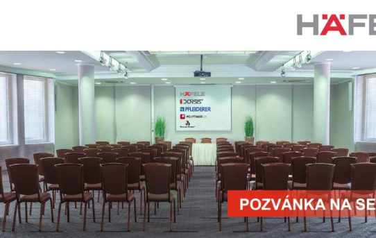 (Čeština) POZVÁNKA NA SEMINÁŘ NOVINKY & TRENDY PRO STAVBU A INTERIÉR