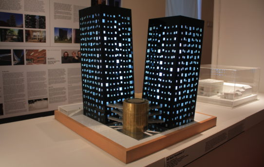 Výstava Architektonické dědictví a ikony architektury