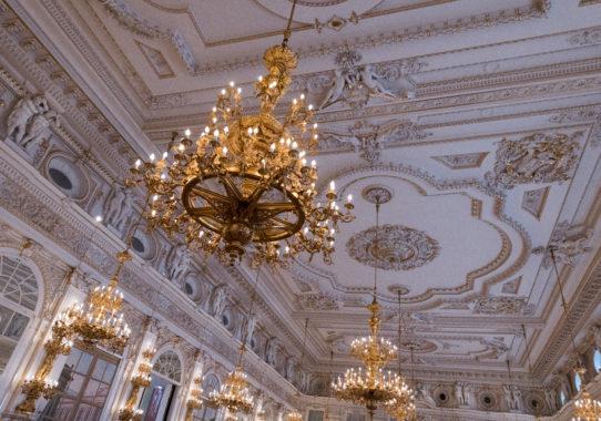 Slavnostní večer Pocta české památkové péči ve Španělském sále Pražského hradu 3.10.2019