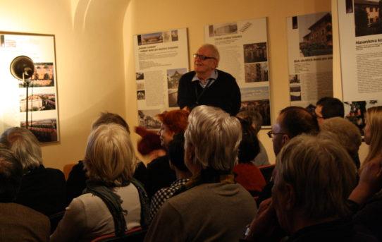 Přednáška o tvurci budovy Mánes