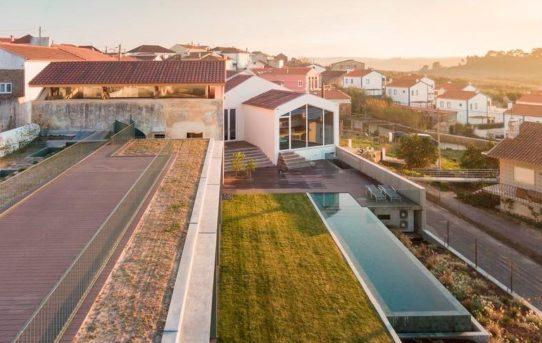 Projekt Obidos House v Portugalsku