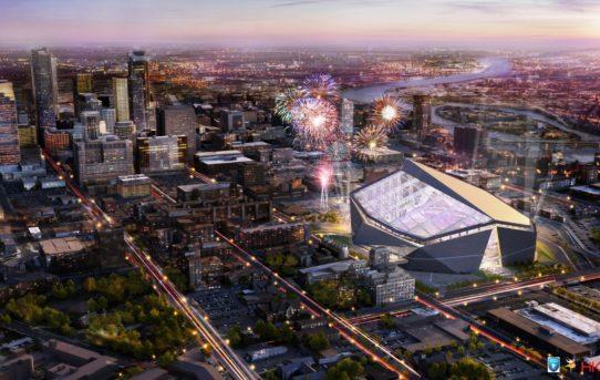 HKS představila nový Minneapolis stadion / HKS