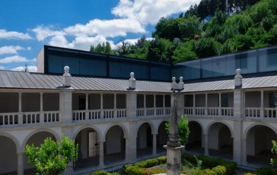 Tichý klášter in the Lorvão Monaster / João Mendes Ribeiro