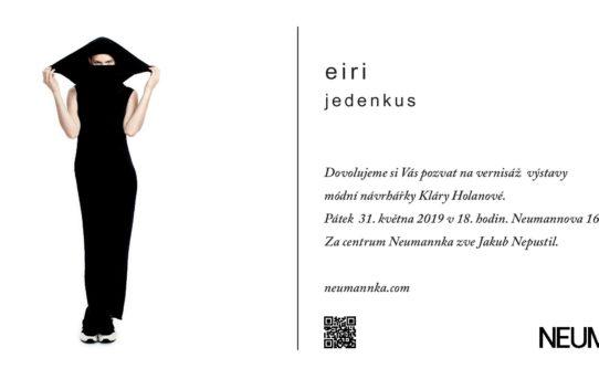 """vernisáž výstavy""""Eiri -jedenkus"""""""