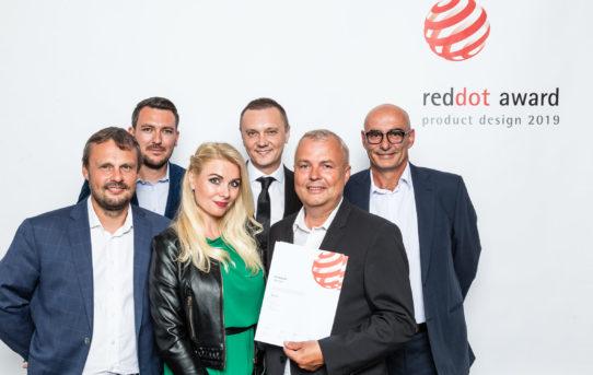RED DOT AWARD 2019 za dveřní systém MUTEO