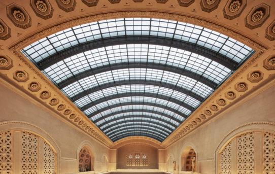 Rekonstrukce světlíku Union Station v Chicagu