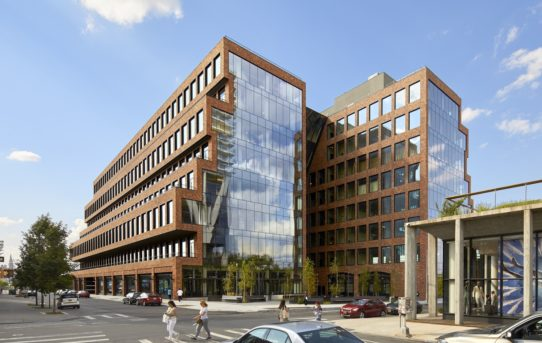 Budova 25 Kent od Gensler + HWKN