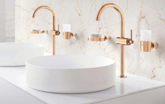 Ze zákazníků se stávají tvůrci: A kolekce GROHE Colors jim nabízí maximální flexibilitu a kreativní svobodu při vytváření osobitého koupelnového interiéru