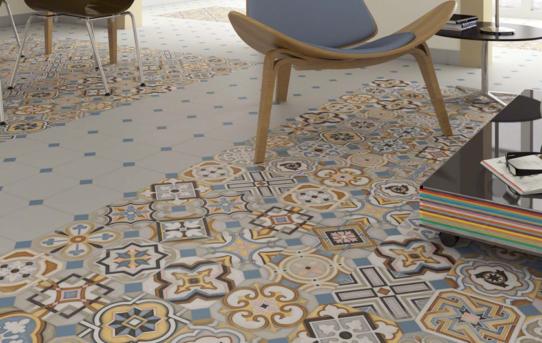 Vodevil – hravý patchwork inspirovaný secesní Prahou