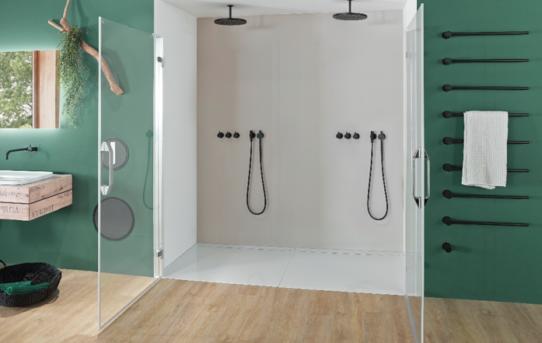 Stylové a bezpečné sprchování s Kaldewei Secure Plus