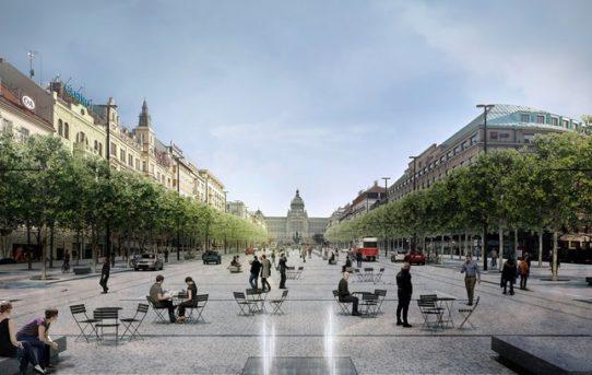 (Čeština) Václavské náměstí bude mít svou vlastní nádrž na dešťovou vodu