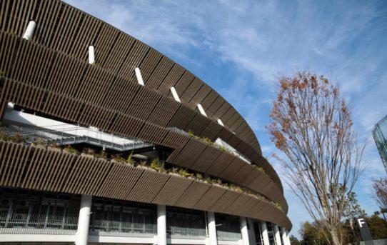 Japonsko se znovu vrací ke dřevu s novým olympijským stadionem v Tokyu