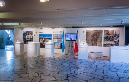 (Čeština) Výstava Architektura pro korunu v Paříži