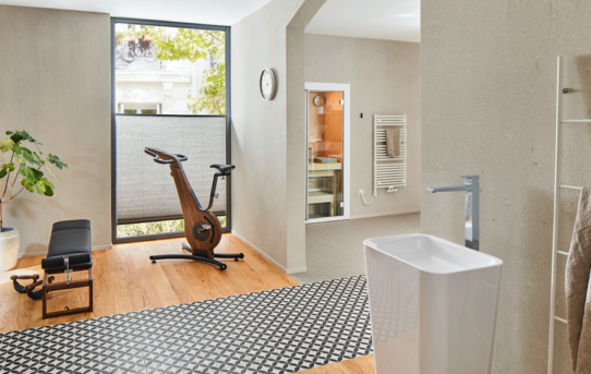 Zdravý životní styl díky vlastní koupelně – sKaldewei je to možné!