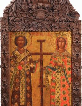 Ikony postbyzanstkého období (15. - 17. století)