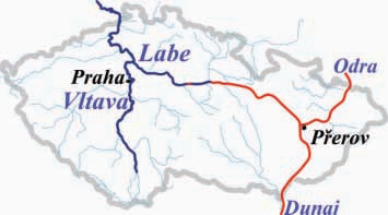 (Čeština) Vodní koridor Dunaj-Odra-Labe