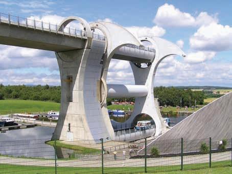 (Čeština) Otočné lodní zdvihadlo Falkirk Wheel