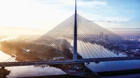 Projekt Most Ada – nový most přes řeku Sávu