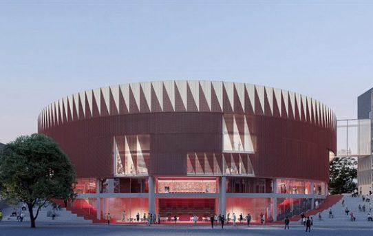 V Jihlavě postaví novou arénu, bude mít tvar ježka