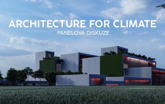 Architektura pro klima – Panelová diskuze, zrušeno