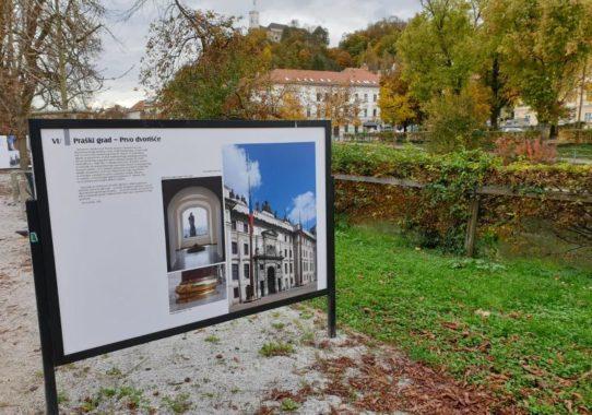 """(Čeština) Výstava """"Jože Plečnik a Praha"""" v Lublani pod širým nebem, od 26. 10. 2020 do 26. 11. 2020"""