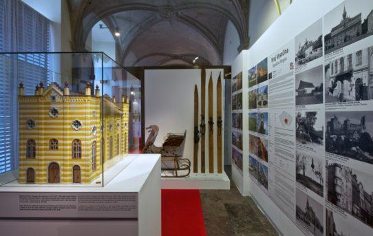 Výstava Památky mého kraje v Klášteře Sv. Jiří a Rožmberském paláci