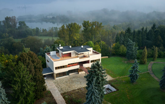 (Čeština) Architektura jako součást kultury, nově zrekonstruované Divadlo Na zábradlí zve na výstavu