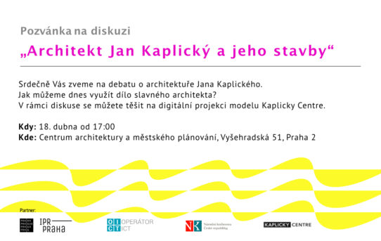 Architekt Jan Kaplický a jeho stavby