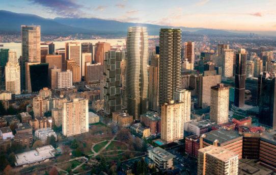 Pasivní obytný mrakodrap pro Vancouver