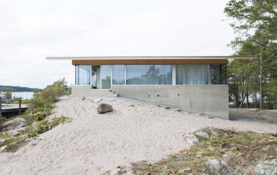 Lilla Rågholmen House od Arrhov Frick Arkitektkontor