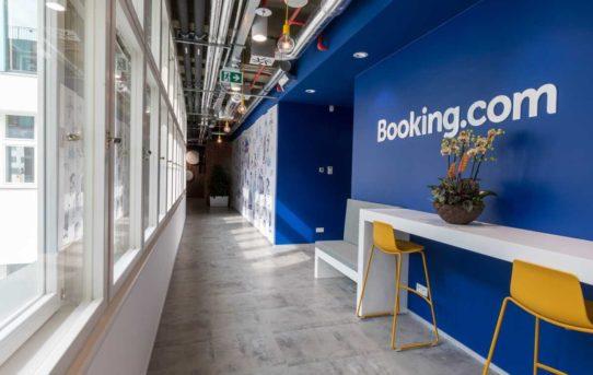 (Čeština) CBRE: Booking.com otevírá nové kanceláře v pražské ulici Na Příkopě