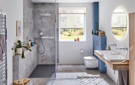 Bezbariérová řešení koupelen pomáhají bytové ekonomice