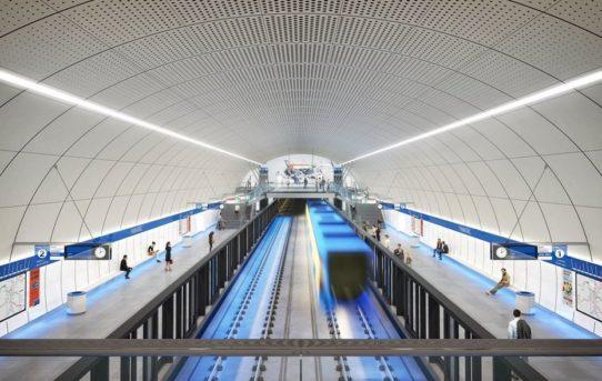 Podívejte se, jak bude vypadat nová linka metra D