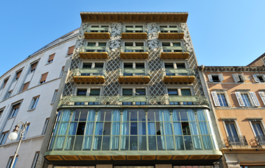 (Čeština) Výstava Secesní Ljubljana a architekt Maks Fabiani