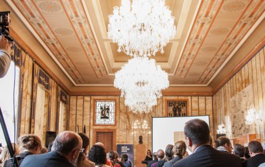 (Čeština) Hosté V. mezinárodní konference Strategie financování obnovy nemovitých kulturních památek a současná architektura a historická zástavba