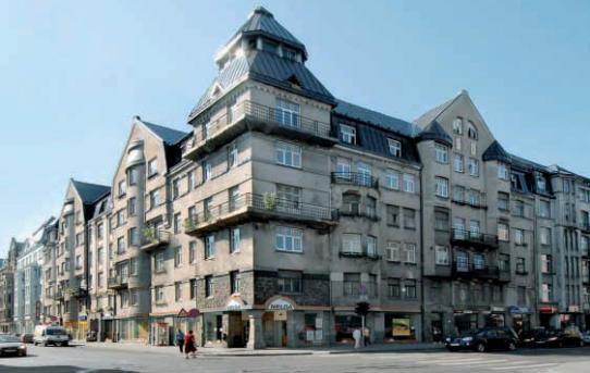 (Čeština) Rižská secesní architektura