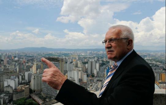 Václav Klaus v Brazílii
