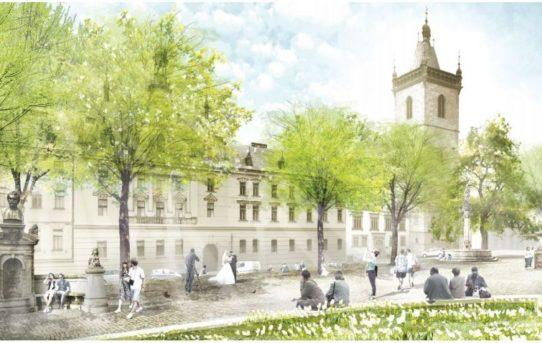 (Čeština) Z Karlova náměstí zmizí zábradlí a přibude přechodů