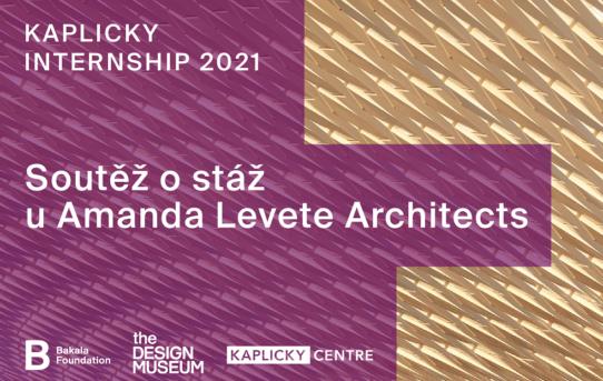 Sedmý ročník soutěže Kaplicky Internship láká mladé architekty na stáž v prestižním studiu Amanda Levete Architects