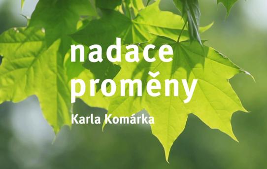 Nadace Proměny Karla Komárka na výstavě Udržitelná Praha 2021